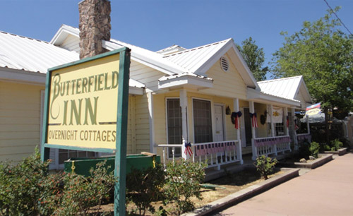 photo of the front of Butterfield Inn
