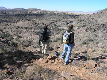 photo of hikers at Chihuahuan Desert Nature Center