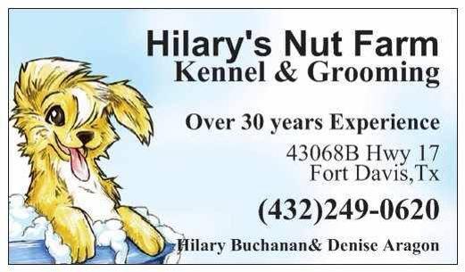 Hilary's Nut Farm Kennel & Dog Grooming
