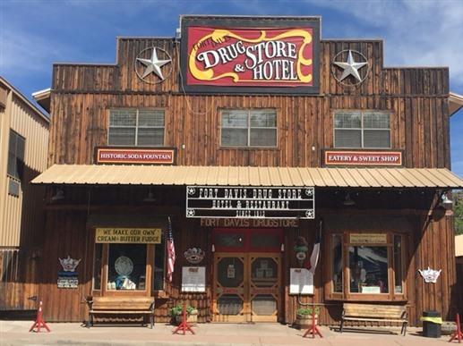 Fort Davis Drug Store & Hotel