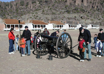 photo of Artillery Demonstration at Fort Davis National Historic Site