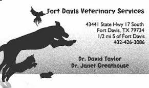 Fort Davis Veterinary Services
