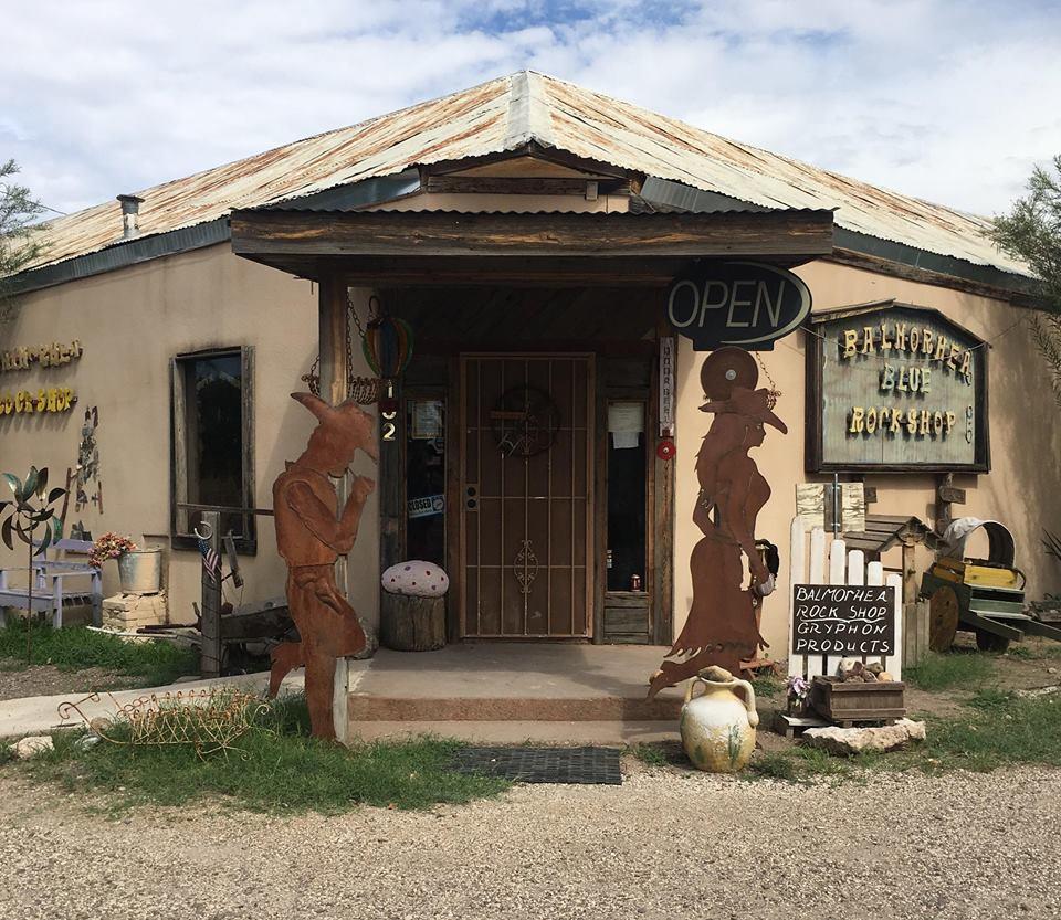 Balmorhea Rock Shop