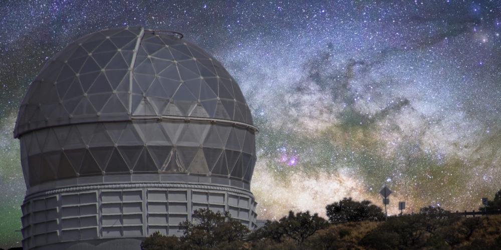 Telescope Milky Way