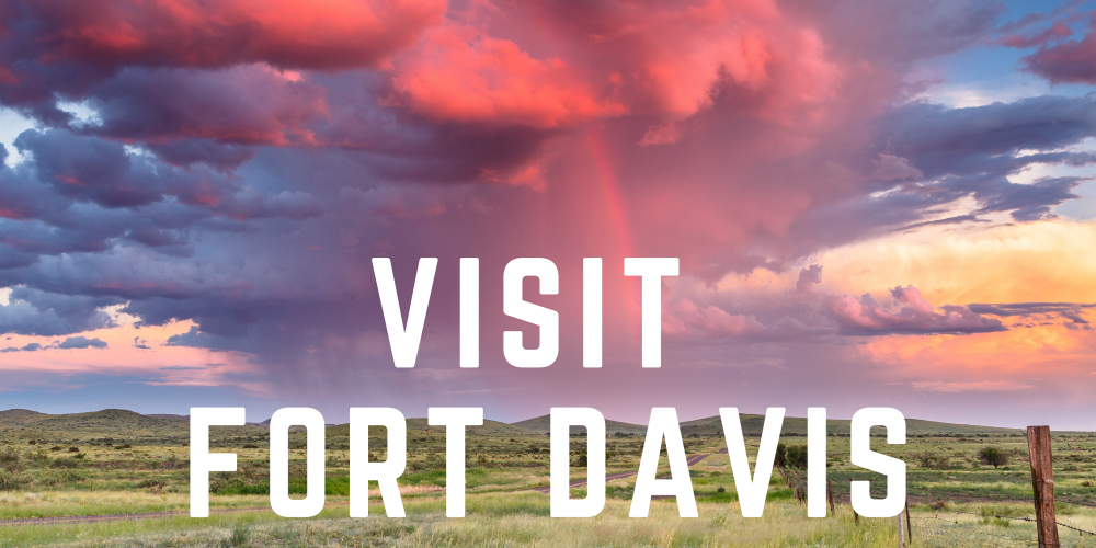 the davis mountains are calling!